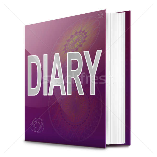 Diary book. Stock photo © 72soul