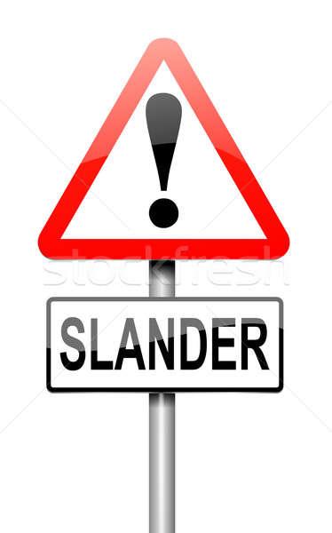 Slander concept. Stock photo © 72soul