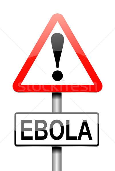 Ebola concept. Stock photo © 72soul
