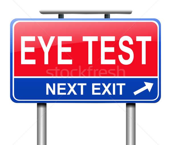 視力検査 実例 にログイン 眼 健康 ストックフォト © 72soul