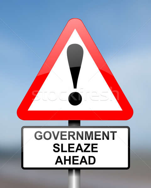 Government sleaze concept. Stock photo © 72soul