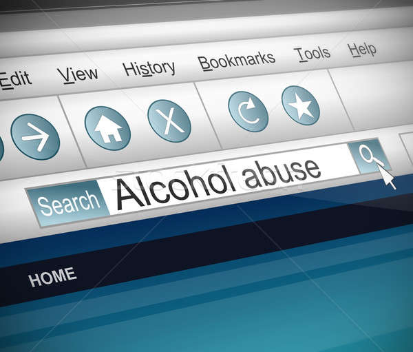 Alcohol abuse concept. Stock photo © 72soul