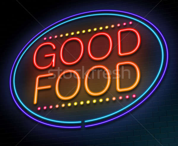 Good food concept. Stock photo © 72soul