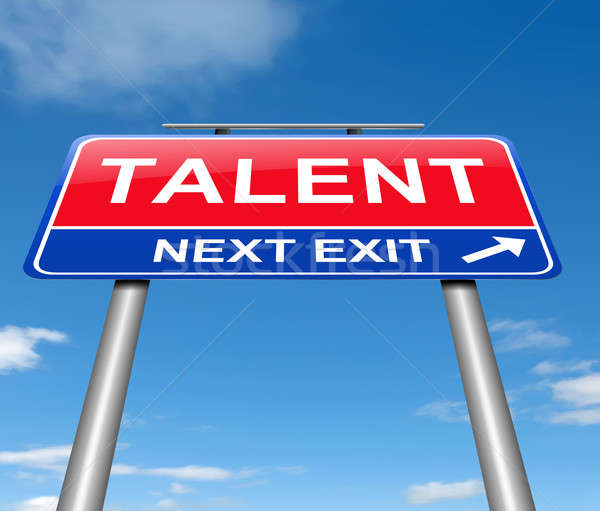 Talent concept. Stock photo © 72soul