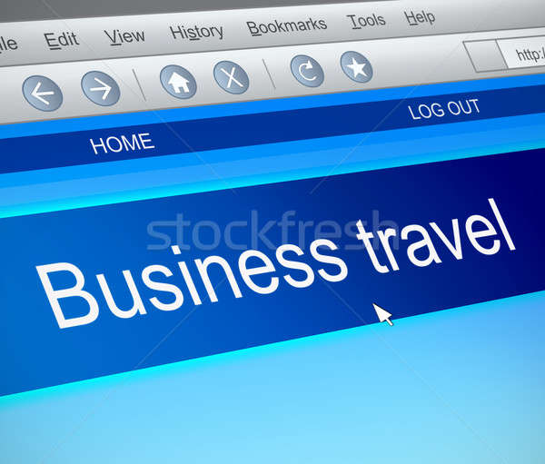 Business travel concept. Stock photo © 72soul