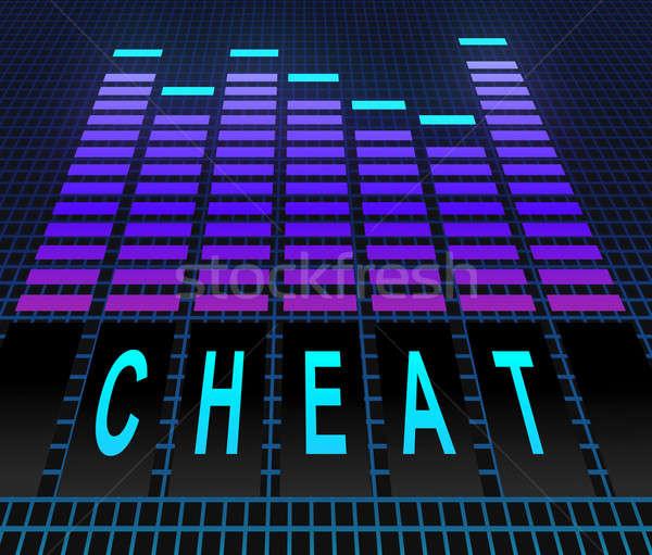 Cheat concept. Stock photo © 72soul