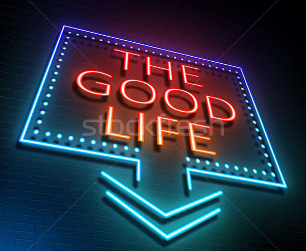 The good life concept. Stock photo © 72soul