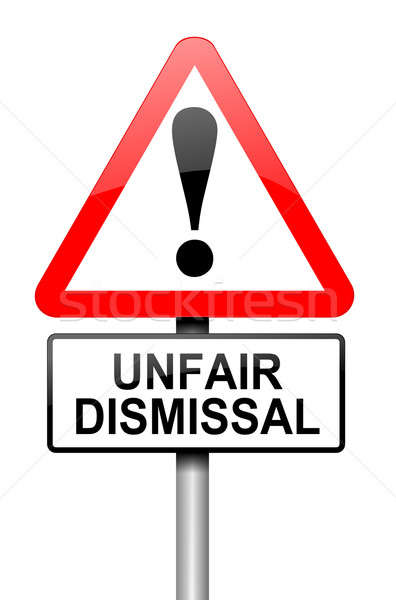 Unfair dismissal concept. Stock photo © 72soul