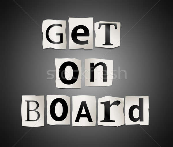 Get on board. Stock photo © 72soul