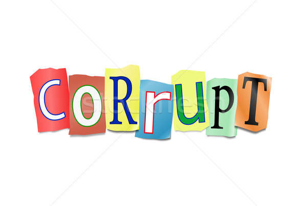 Corruption concept. Stock photo © 72soul