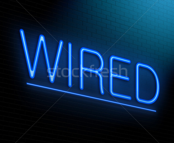 Wired concept. Stock photo © 72soul