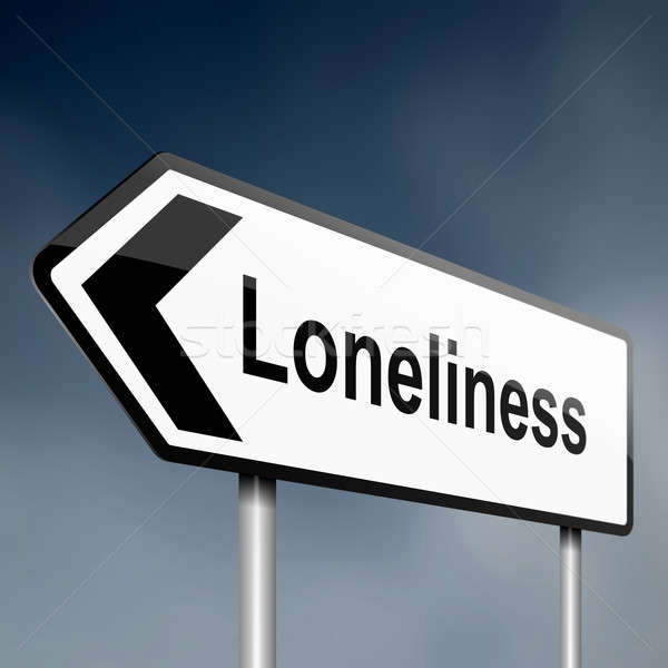 Loneliness Stock photo © 72soul