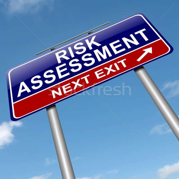Risk assessment concept. Stock photo © 72soul