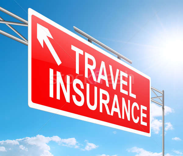 Travel insurance sign. Stock photo © 72soul