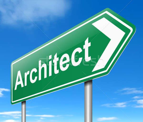 Architect concept. Stock photo © 72soul