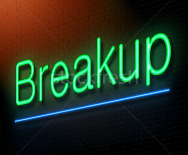 Breakup concept. Stock photo © 72soul