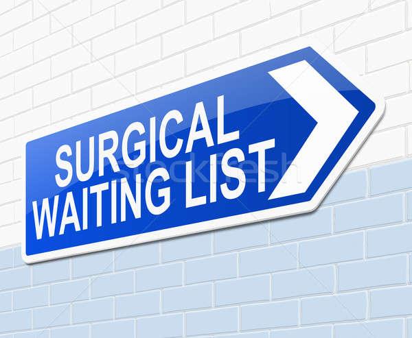 外科的な 待って リスト 実例 にログイン 背景 ストックフォト © 72soul
