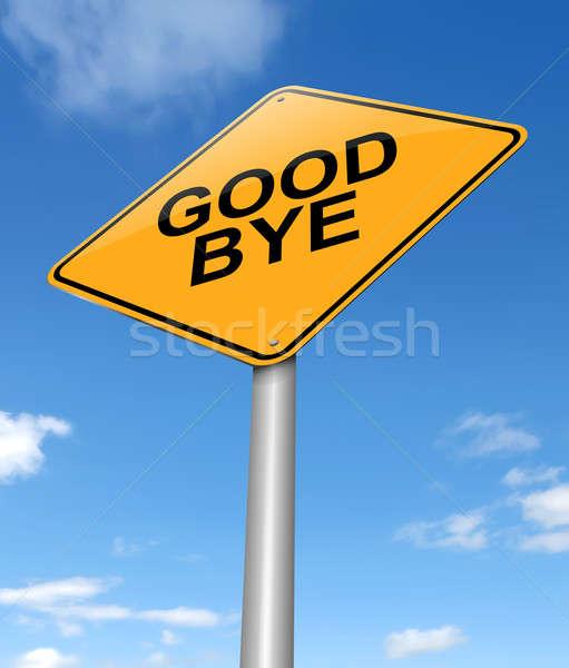 Goodbye concept. Stock photo © 72soul