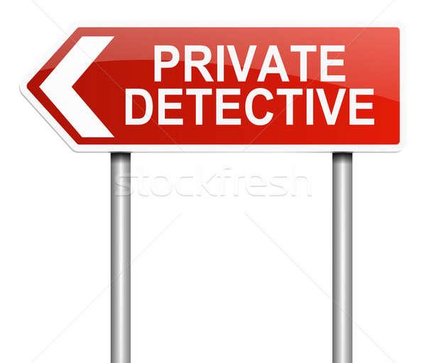 Private detective concept. Stock photo © 72soul