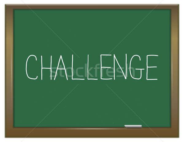 Challenge word concept. Stock photo © 72soul