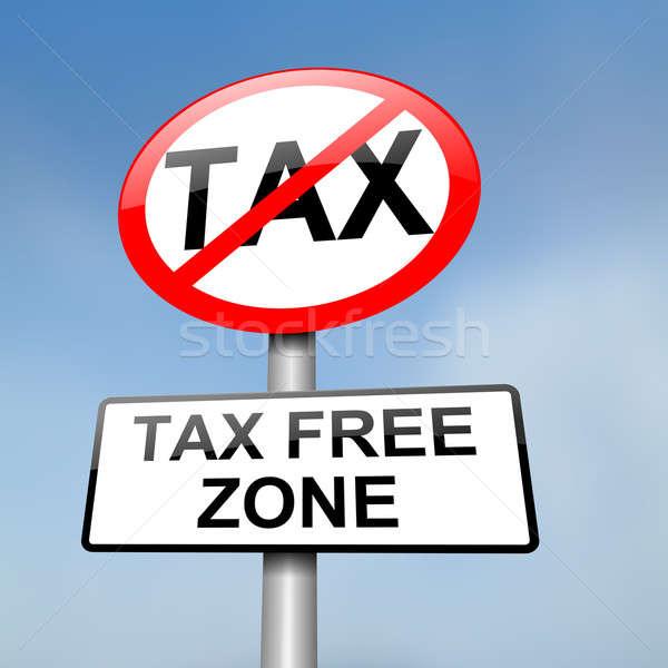 Tax free zone. Stock photo © 72soul