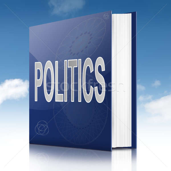 Politics text book. Stock photo © 72soul