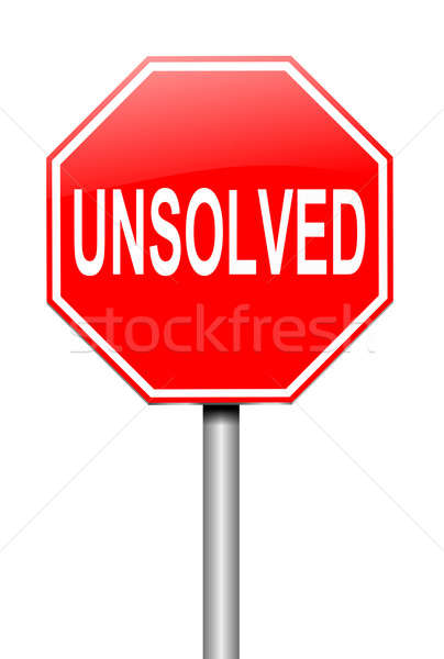 Unsolved concept. Stock photo © 72soul
