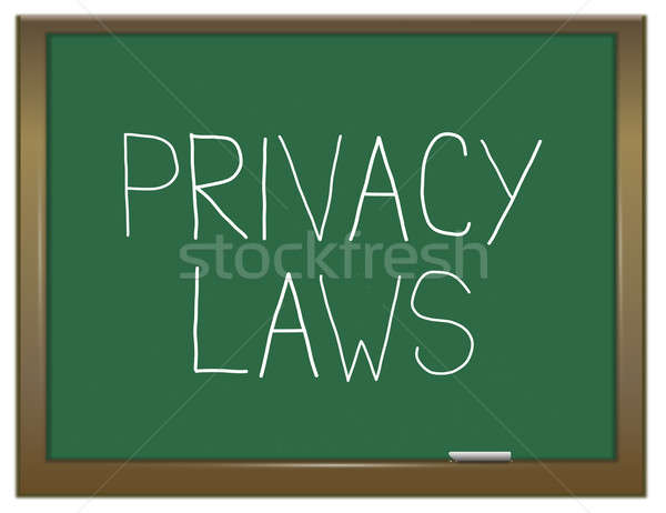 Privacy laws concept. Stock photo © 72soul