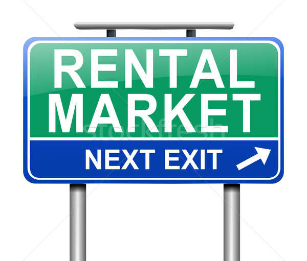Rental market concept. Stock photo © 72soul