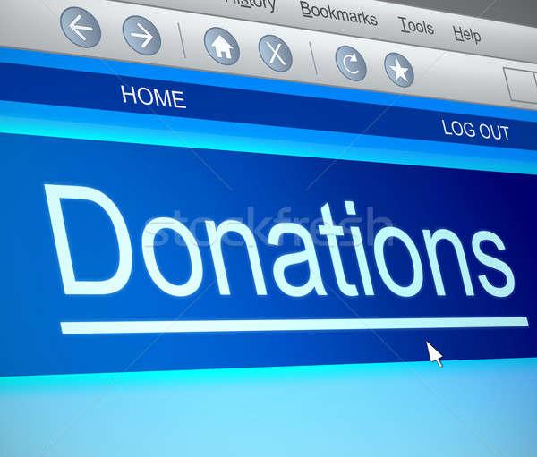 Donation concept. Stock photo © 72soul