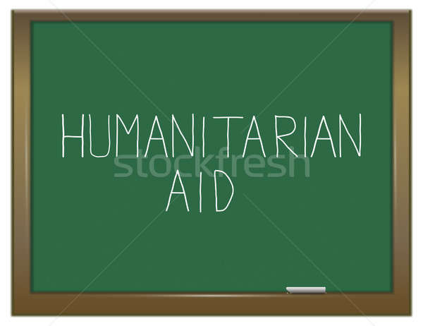 Humanitarian aid concept. Stock photo © 72soul