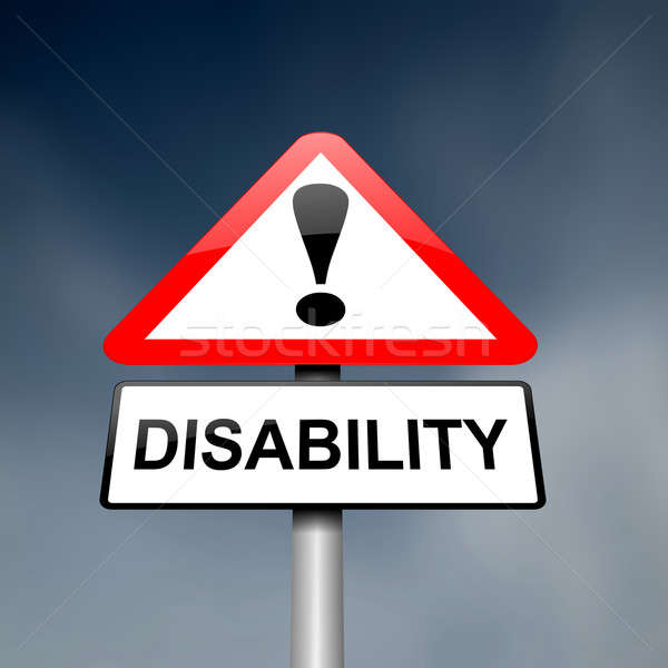 Stock photo: Disability awareness.