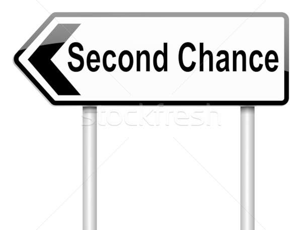 Second chance concept. Stock photo © 72soul