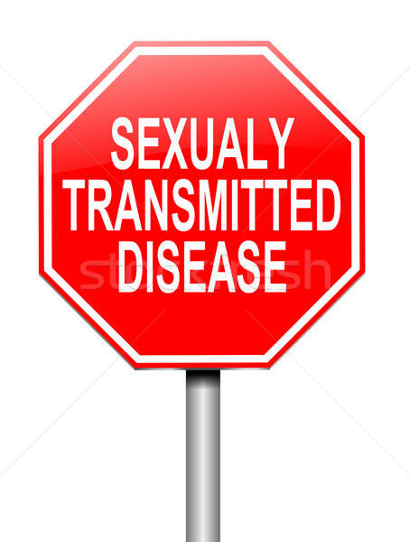 Sexually transmitted disease concept. Stock photo © 72soul