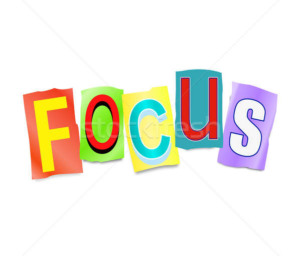 Focus concept. Stock photo © 72soul