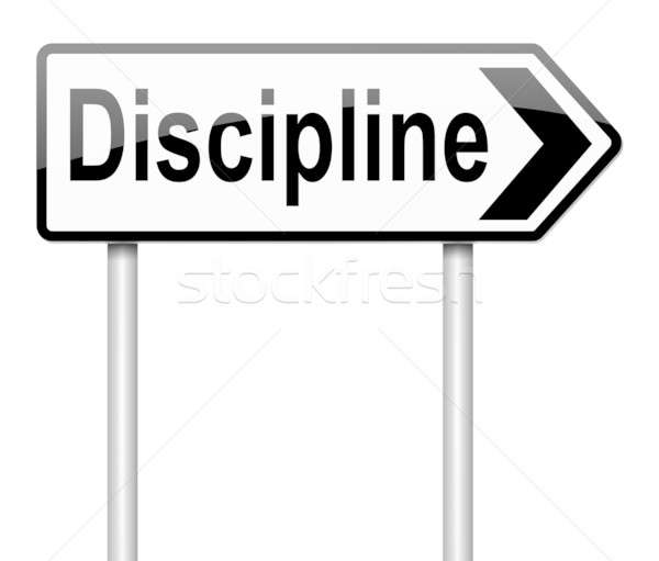 Discipline concept. Stock photo © 72soul