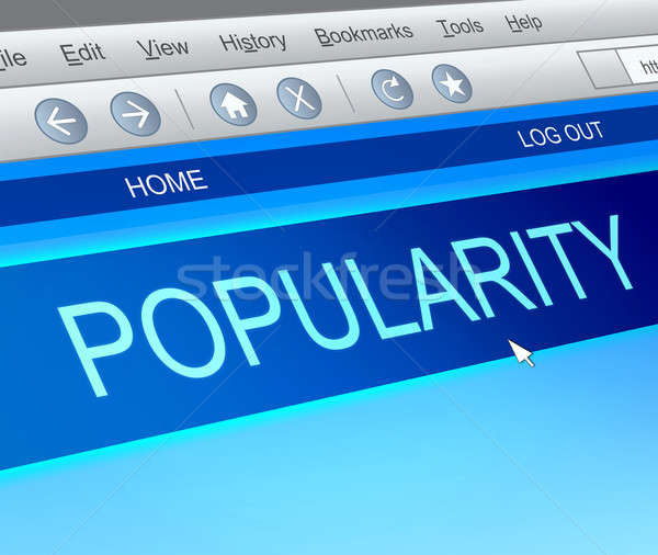 Popularity concept. Stock photo © 72soul