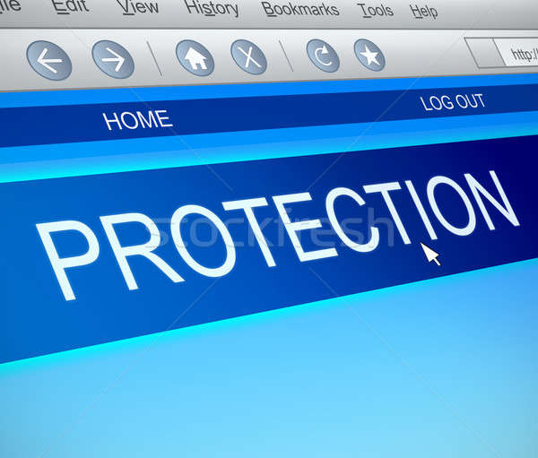 Protection concept. Stock photo © 72soul