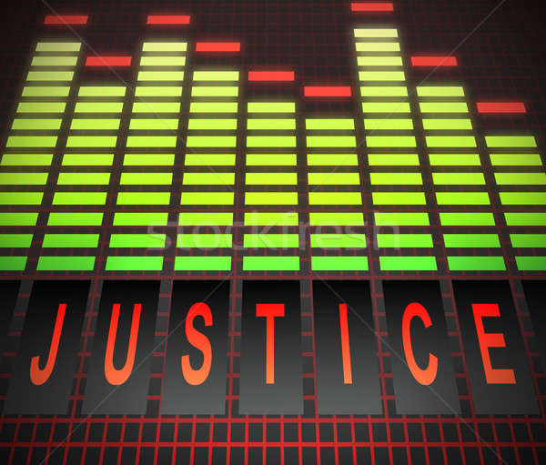 Justice concept. Stock photo © 72soul