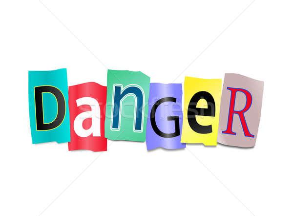 Danger concept. Stock photo © 72soul