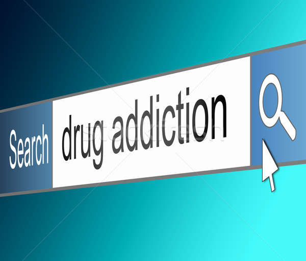 Drug addiction concept. Stock photo © 72soul