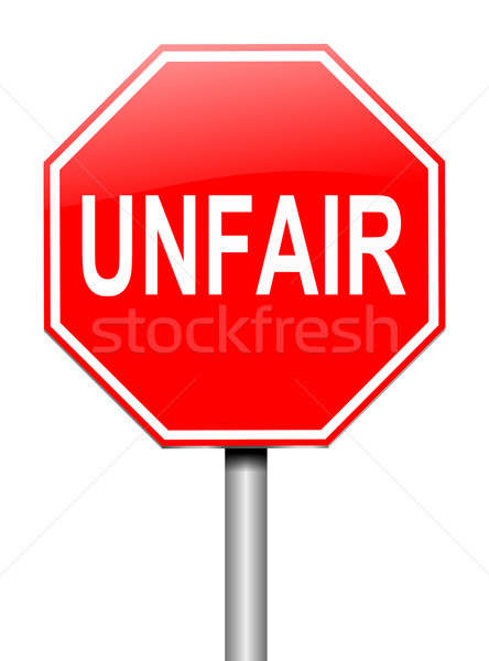 Unfair concept. Stock photo © 72soul