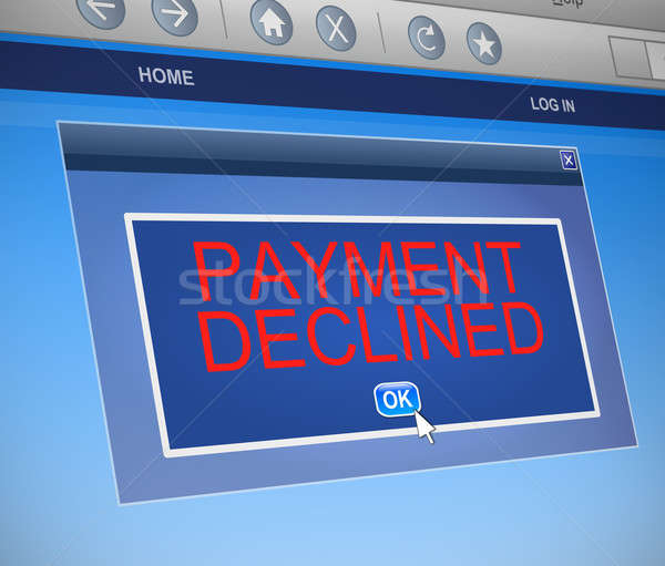 Payment declined concept. Stock photo © 72soul