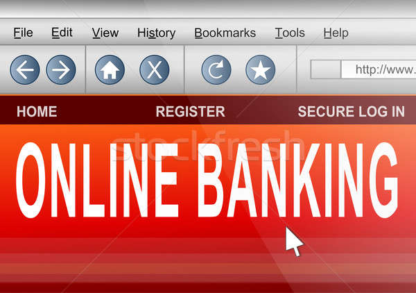 Online banking. Stock photo © 72soul
