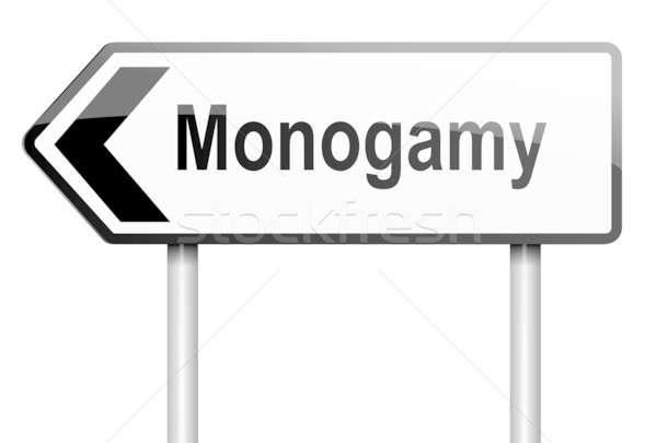 Monogamy concept. Stock photo © 72soul