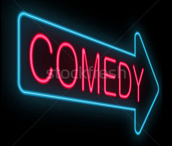 Comedy concept. Stock photo © 72soul