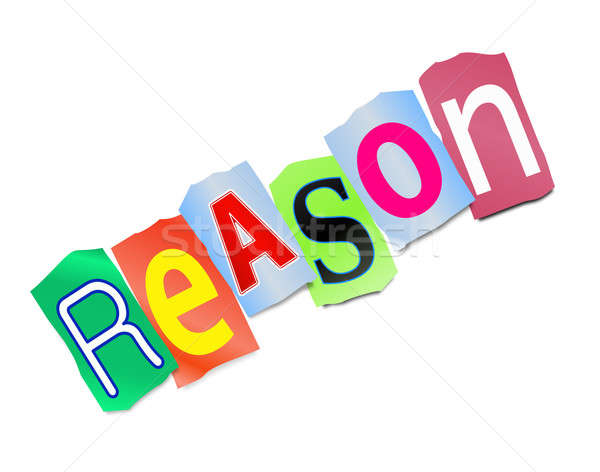 Reason concept. Stock photo © 72soul