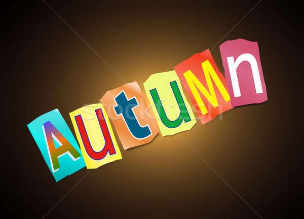 Autumn concept. Stock photo © 72soul