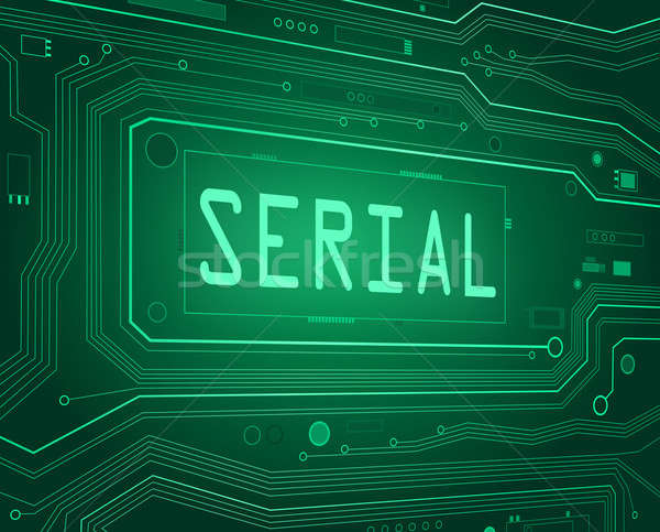 Serial concept. Stock photo © 72soul