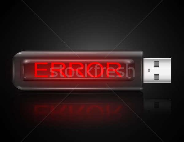 Error concept. Stock photo © 72soul